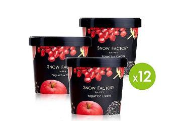 12入獨享杯冰淇淋禮盒-水果花園派對